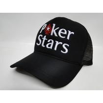 Boné Poker Stars - Bone Aba Curva Pocker