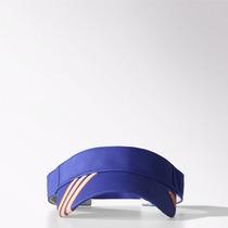 Viseira Adidas Essentials 3s Off Azul/laranja