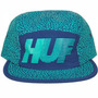 Boné Importado 5 Panel Huf Dgk Obey Gold Diamond Dc Supreme