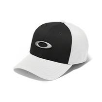 Bone Oakley Tincan Oval ( Branco Com Preto S/m )
