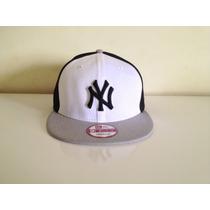 Boné De Aba Reta Mlb New York Yankees Snapback Original