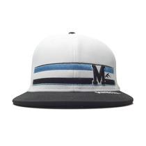 Boné Maresia Aba Reta Heardwear White Black And Blue