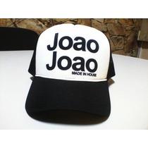 Boné João João - Sátira Com Boné John John