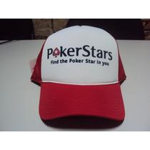Boné Poker Stars Snapback Trucker