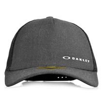 Boné Oakley Chalten Cap Aba Curva Snapback Preto
