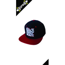 Boné Strapback Black Sheep Aba Reta