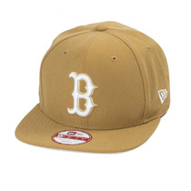 Boné New Era Strapback Original Fit Boston Red Sox Wheat