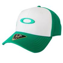 Boné Oakley Tincan Cap Verde Com Branco Lançamento - L/xl