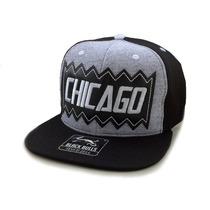 Boné Aba Reta Black Bulls Chicago Snapback Nacional Basquete