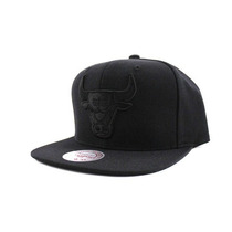 Boné Snapback Aba Reta Cinza Chicago Bulls 47 Brand Nba