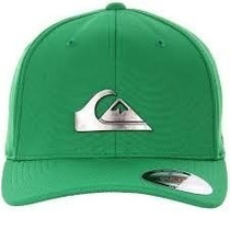Boné Quiksilver Metal Flex Fit + Frete Gratis - Verde
