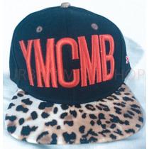 Bone Ymcmb Preto Aba Onca Leopardo - Pronta Entrega