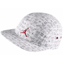 Boné Nike Strapback Air Jordan Mars 5 Five Panel Red Jumpman