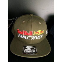 Boné Red Bull Racing - Starter Black Label - Aba Reta