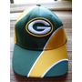 Boné Nfl Futebol Americano Green Bay Packers Aba Meia Curva