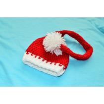 Touca Crochê Elfo Noel - Fotos - Recém-nascidos - Newborn