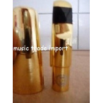Boquilha Para Saxofone Alto De Metal Henri Selmer Nº 5 A 9