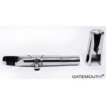 Boquilha Gatemouth De Metal Para Saxofone Barítono, Modelo S
