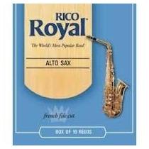 Palheta Rico Royal - Sax Alto - N° 3 1/2 - Frete Gratis