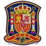 Patch Bordado Copa 2014 Escudo Seleção Da Espanha 9cm Sel9