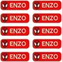 Kit C/10 Etiquetas Homem Aranha Com Seu Nome Para Uniformes
