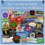 Faça Seu Logotipo Ou Logomarca Patch Bordado Personalizado