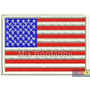 Bordado Termocolante - Bandeira Países - Eua 7x4,5cm
