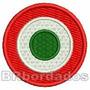 Tpc093 Copa Itália Inter De Milão Tag Patch Bordado 4,5 Cm