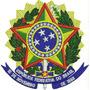 Patch Bordado Brasão Republica Federativa Do Brasil Bra18