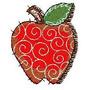 B402 Coleção Bordados Computadorizados Frutas E Legumes