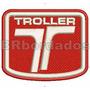 Car021 Troller Rallye Patch Bordad Fórmula F1 Kart Stock Car