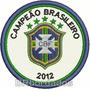 Tpc136 Fluminense Campeão Brasileiro 2012 8cm Patch Bordado