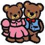 B428 Coleção Bordados Computadorizados Urso Brother Janome