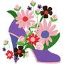 B32 Coleção Bordados Computadorizado Flores Floral