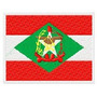 B637 Bordados Computadorizados Bandeiras Estados Brasileiro