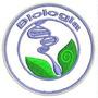 Bordado Termocolante Profissão Logo Biologia 6cm Patch Prf26