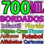 Super Coleção 700 Mil Bordados + Disney E Times Via Download