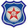Patch Bordado Trj028 Friburguense Rj Escudo Símbolo Brasão