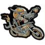 Bordado Termoc. Wolf Biker Lobo Crazy Patch Moto Car284