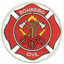 Bordado Termocolante Bombeiro Civil Patch Prf55