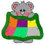 B203 Coleção Bordados Computadorizados Ursos Baby