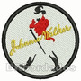 Patch Bordado Log258 Johnnie Walker 7cm Escudo Símbolo Brasã
