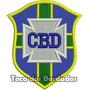 Patch Bordado Escudo Antigo Cbd Seleção Brasil Retro Sel51