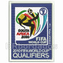 Tpc073 Copa 2010 África Qualifiers Tag Patch Bordado 7x9,4cm
