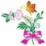 Flores Fáceis - Coleção De Matriz De Bordado