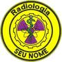 Bordado Termoc Profissão Logo Radiologia C/ Seu Nome Prf18