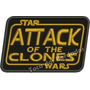 Patch Bordado Star Wars Attack Of The Clones 6x10cm Gms59