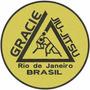 Pacth Bordado Termocolante Gracie Jiu-jitsu Rio
