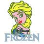 B1320 Bordados Computadorizados Coleção Frozen Disney