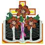 B1319 Bordados Computadorizados Coleção Santa Ceia Religioso